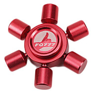 Spinning Top Hand Spinner Fidget Spinner Novelty & Gag Toys for Killing Time High Speed Stress and Anxiety Relief Circular Metal Red Blue