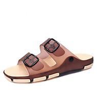 Menns sandaler sollys soler silikon utendørs