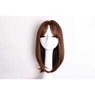 Fashion Brown Color Straight Synthetic Hair Daily Wig for Women