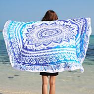 Strandlaken,Reactieve Print Hoge kwaliteit 100% Polyester Handdoek