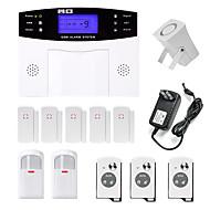 Danmini touch-tast GSM trådløs hjem automatisk telefon sms alarmsystem mobiltelefon kontroll