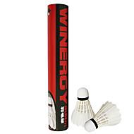 1 pièces Badminton Volants Volants à Plumes Vestimentaire Durable Stabilité pour Plume d'oie