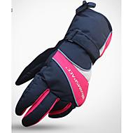 Ski-Handschuhe Vollfinger Unisex Sporthandschuhe warm halten Wasserdicht tragbar Verhindert Scheuerung Schützend Skifahren Eislaufen
