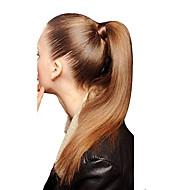 18inch klamerka w wysokiej końcówce ogona dookoła -80gram 100% prawdziwe ludzkie włosy rozszerzenia przedłużenia zużycia