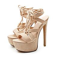 נשים-סנדלים-בד-נעלי מועדון--שמלה מסיבה וערב-עקב סטילטו