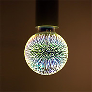1pcs G95 Led Fireworks Decorative 3D E27 Polyhedron Vintage Edison Bulb Home Bar Decor Lighting Lampada AC85-265V