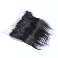 20Inch Braizlian Straight Lace Frontal Closure Best Virgin Brazilian human hair closures Free/Middle/3Part Closure