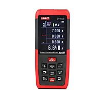 Unidade ut395c portátil digital 100m 635nm medidor de distância do laser com a distância&Medição de ângulo (1,5 aaa baterias)