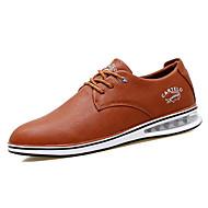 Oxfords-Læder-Komfort-Herrer--Udendørs Kontor Fritid-Flad hæl