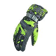 Ski-Handschuhe Alles Sporthandschuhewarm halten Wasserdicht Winddicht Schneedicht Atmungsaktiv Antirutsch Schweißtransportierend