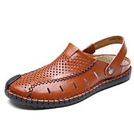 Sandaalit-Tasapohja-Miehet-PU--Ulkoilu-Comfort