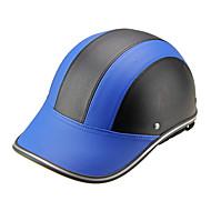 Motor hjelm baseball cap stil sikkerhed hård hat anti-uv blueblack