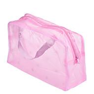 1kpl kannettava vedenpitävä meikki järjestäjä kosmeettisia laukku väri satunnainen