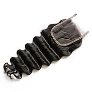 16inch braizlian swobodne zamknięcie fali najlepsze dziewicze brazylijskie zamknięcie koronki bielone węzły zamknięcia wolne / środkowe /