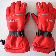 Ski-Handschuhe Vollfinger Unisex Sporthandschuhe warm halten Wasserdicht tragbar Atmungsaktiv Verhindert Scheuerung SchützendSkifahren