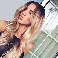 High Quality Wave Black To Blonde Color Wigs Fashion Sexy Women Wigs Natural Hair Synthetic Wigs