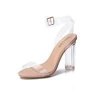 Sandály-Guma-Pohodlné-Dámské--Běžné-Kačenka Block Heel