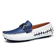 Miehet Veneilykengät Comfort Sukelluskengät PU Kevät Kesä Kausaliteetti Juhlat Kävely Comfort SukelluskengätMusta Tumman sininen