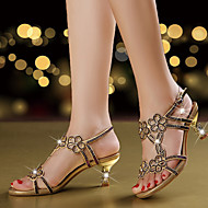 Sandaalit-Piikkikorko-Naiset-Mikrokuitu--Häät Puku Juhlat-Comfort Uutuus Club Kengät