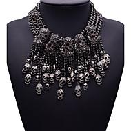 여성용 문 목걸이 보석류 보석류 보석 합금 패션 Euramerican 블랙 보석류 용 파티 1PC