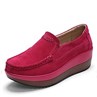 Damen-Loafers & Slip-Ons-Büro Kleid Lässig Sportlich Party & Festivität-Wildleder-Creepers-Creepers-