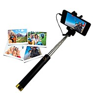 selfie stick selfie stickand til iphone 8 7 samsung galaxy s8 s7 for ios / android telefon huawei xiaomi nokia