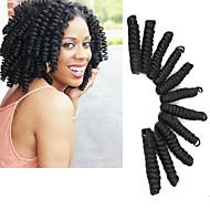 Brillant & Séduisant Mariage Européen Style européen Tresses bouclés Extensions de cheveux Kanekalon Cheveux Tressée
