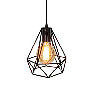 Pendant Light ,  Rustic/Lodge Antique Vintage Retro Painting Feature for Mini Style Metal Kitchen Entry Shops/Cafes 1 Bulb