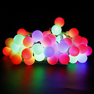 LED String Lights 10 m 100 leds Warm White/ White/ Red/ Yellow/ Blue /Pink/ Multi Color power supply US EU 110V-130V  220V-240V
