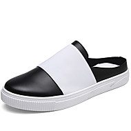 Men's Loafers & Slip-Ons Spring / Fall Comfort / Round Toe Suede Casual Canvas Yeelow / White/ Black/ Green / Blue Walking / Others