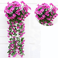1 Une succursale Guirlande et Fleur Murale Fleurs artificielles
