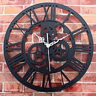 伝統風 レトロ風 壁時計,円形 ノベルティ柄 屋内 クロック