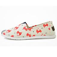 Damen Loafers & Slip-Ons Komfort Leuchtende Sohlen Stoff Frühling/Herbst Jahreszeiten Alltag Normal Walking Komfort Leuchtende Sohlen