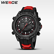 WEIDE Men's Sport Watch Dress Watch Fashion Watch Digital Watch Japanese Quartz DigitalCalendar Water Resistant / Water Proof Dual Time Zones