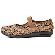 Damen Loafers & Slip-Ons Komfort Leuchtende Sohlen Tüll Jahreszeiten Sommer Alltag Normal Walking Komfort Leuchtende Sohlen Elastisch