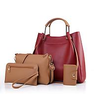 női táska állítja pu minden évszakban hivatalos alkalmi irodai&karrier hordó cipzár piros fekete fehér zöld