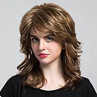 Šarmantne jedinstvene duge kovrče ljudske kose perike za ženu