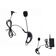 オートバイ VNETPHONE Referee Headset 耳掛けスタイル