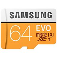 samsung 64gb micro sdカードtfカードメモリカード100mb / s uhs-3 class10