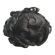 8x10inch mężczyzn wig torebki szwajcarskiej koronki naturalnych włosów remy wymiany systemów hairpiece