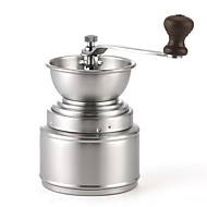 Moedor de aço inoxidável grão de café moedor de pimenta preto artesanal
