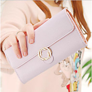 Muški novac novčanik torbica svih sezona pravokutni zatvarač sivi pocrvenjeti ružičastu crnu