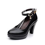 Femme Chaussures à Talons Escarpin Basique Chaussures formelles Vrai cuir Printemps Automne Décontracté Habillé Soirée & EvénementRivet