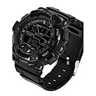 Homens Relógio Esportivo Relógio Militar Relógio Inteligente Relógio de Moda Relógio de Pulso DigitalLED Calendário Monitores de