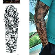 Tatoveringsklistremerker Andre Ikke Giftig Stor Størrelse Vanntett Dame Herre Tenåring Flash-tatovering midlertidige Tatoveringer
