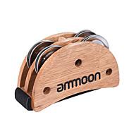 Ammoon elliptische cajon box drum companion accessoire voet jingle tamboerijn voor hand percussie instrumenten burlywood