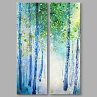 Hånd-malede Abstrakt Abstrakt Moderne To Paneler Kanvas Hang-Painted Oliemaleri For Hjem Dekoration