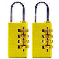 Réinitialiser rst-055 tampon en cuivre cadenouille quatre mot de passe numérique grand verrouillage cadenas anti-vol 6 pour installer