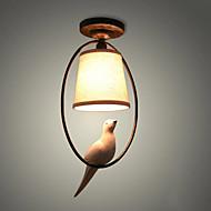 40w závěsné světlo, tradiční / klasické malířské funkce pro dřevěný / bambusový pokoj ve stylu mini / ložnice / jídelna / studium