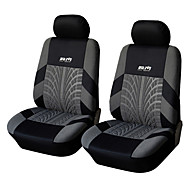 Universal Fit for Car, Truck, Suv, or Van Polyester Car Seat Cover Front Seat Cover (4 Pieces Set)